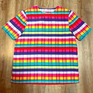 Vintage Colorful Alfred Dunner Top